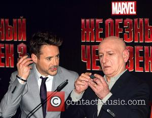 Ben Kingsley and Robert Downey Jr