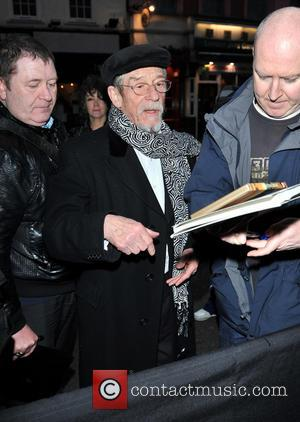 John Hurt - Liberatum Annual London Honour Dinner held at the W Hotel - Arrivals - London, United Kingdom -...