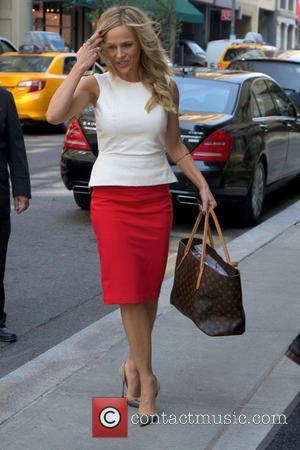 Julie Benz - Celebrities seen outside their hotel in Soho, Manhattan - New York, New York, United States - Wednesday...