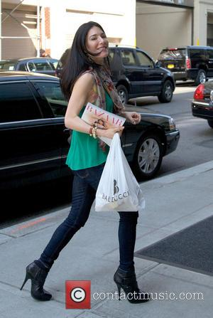 Jaime Murray - Actress Jaime Murray arriving at her Manhattan hotel - New York City, NY, United States - Wednesday...