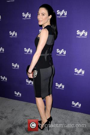Jaime Murray - 2013 SYFY Upfront Presentation - Arrivals - New York City, United States - Wednesday 10th April 2013