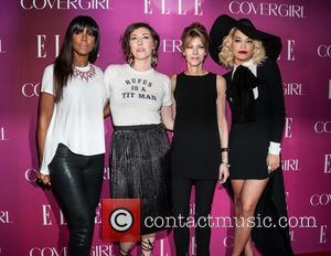 Kelly Rowland, Martha Wainwright, Robbie Myers and Rita Ora