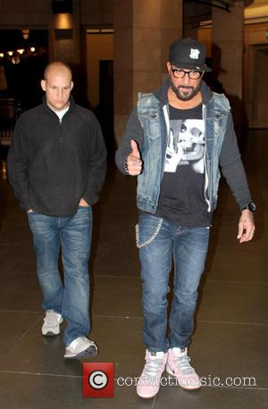 A.J. McLean - Backstreet Boys star A.J. McLean seen at the Hollywood and Highland Center - Los Angeles, California, United...