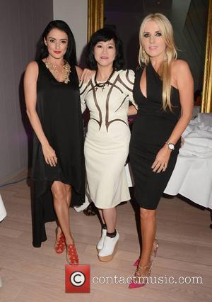 Virginia Macari, Jeanette Sung and Roz Flanagan