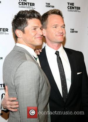 David Burtka and Neil Patrick Harris - The Center Dinner Annual Gala Honoring Edie Winsor at Cipriani Wall Street -...