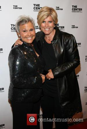Kathy Travis and Suze Orman