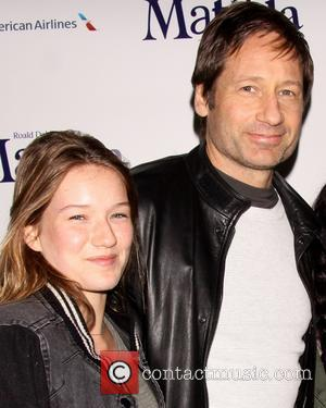 David Duchovny and Madelaine West Duchovny