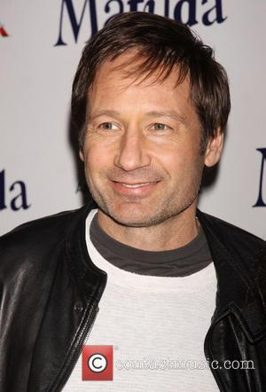 David Duchovny - Celebrities attend the opening night of 'Matilda The Musical' at the Shubert Theatre-Arrivals - New York City,...