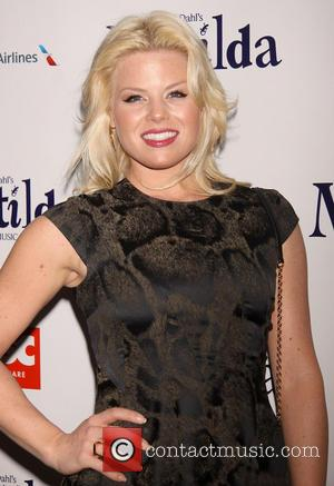 Megan Hilty - Celebrities attend the opening night of 'Matilda The Musical' at the Shubert Theatre-Arrivals - New York City,...
