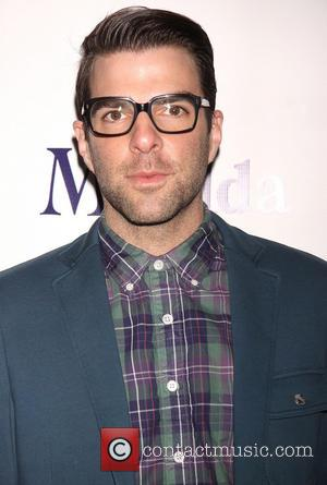 Zachary Quinto - Celebrities attend the opening night of 'Matilda The Musical' at the Shubert Theatre-Arrivals - New York City,...