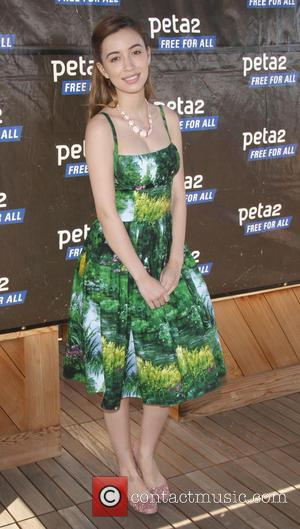 Christian Serratos - Celebrities at the Peta2's Star-Studded Blankets For Shelters Drive - Los Angeles, California - Thursday 11th April...