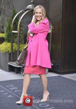 Julie Benz - The cast of SyFy's 'Defiance' seen exiting their hotel - New York City, New York City, United...