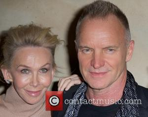 Trudie Styler and Sting Styler