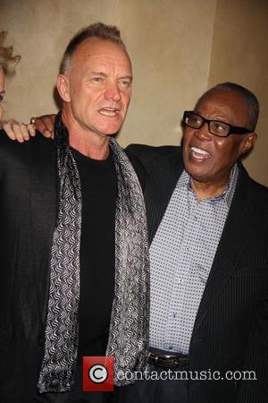 Sting and Sam Moore