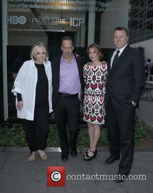 Sheila Nevins, Director, Sebastian Junger, Sara Bernstein and Nick