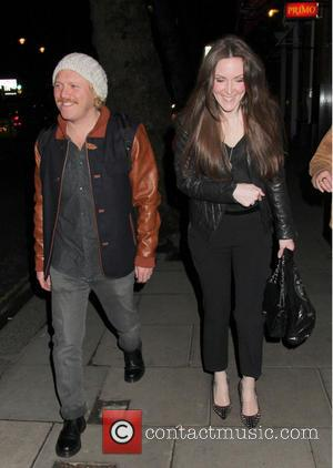 Keith Lemon and Jill Carter - Holly Willoughby , Emma Bunton , Heidi Range and Boy George, enjoyed an night...