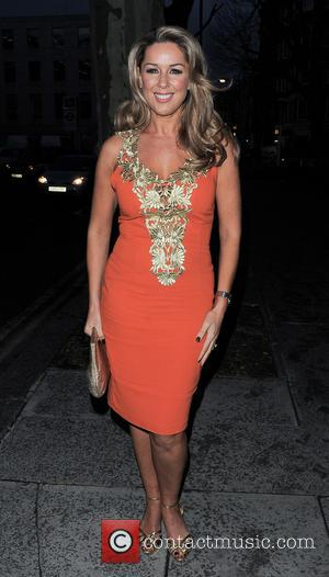 Claire Sweeney - My Beautiful Ball Fundraiser event held at The Landmark Hotel - Outsde Arrivals - London, United Kingdom...