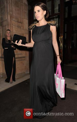 Danielle Lloyd - My Beautiful Ball Fundraiser event held at The Landmark Hotel - Departures - London, United Kingdom -...