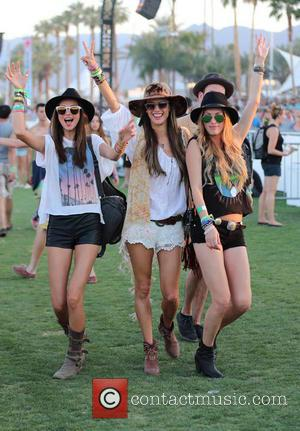 Miranda Kerr, Alessandra Ambrosio and Candice Swanepoel - Celebrities at the 2013 Coachella Valley Music and Arts Festival - Week...