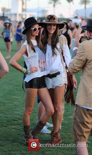 Miranda Kerr and Alessandra Ambrosio