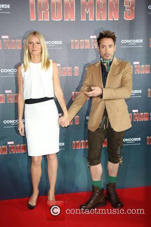 Robert Downey Jr and Gwyneth Paltrow