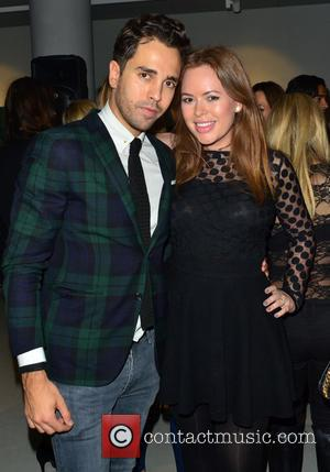 Diego Bivero-Volpe and Tanya Burr - Diego Bivero-Volpe's 30th Birthday Party and Fundraiser for Kids Company at Rook and Raven...