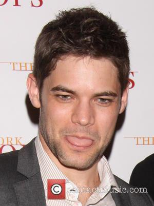 Jeremy Jordan acting goofy - Backstage at The New York Pops Concert The Wizard and I: The Musical Journey of...