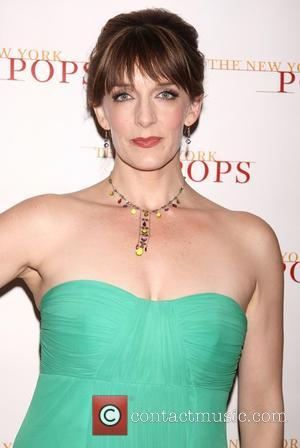 Julia Murney - Backstage at The New York Pops Concert The Wizard and I: The Musical Journey of Stephen Schwartz...
