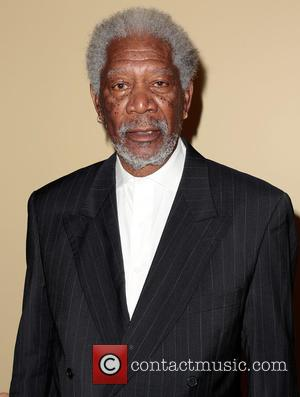 Morgan Freeman - The Guild Of Big Brothers Big Sisters Of Greater Los Angeles 'Accessories for Success' spring luncheon and...