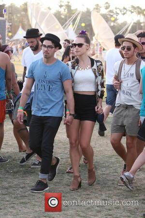 Joe Jonas, Blanda Eggenschwiler and Nick Jonas