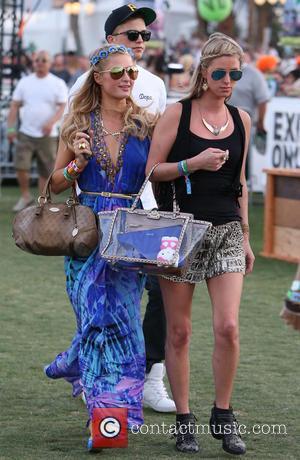 Paris Hilton, Nicky Hilton and River Viiperi