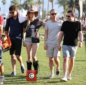 Joshua Jackson, Diane Kruger, Jason Wu and Gustavo Rangel - Celebrities at the 2013 Coachella Valley Music and Arts Festival...