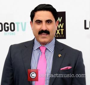 Reza Farahan - 6th Annual Logo 'NewNowNext Awards' at the Fonda Theatre - Arrivals - Los Angeles, California, United States...