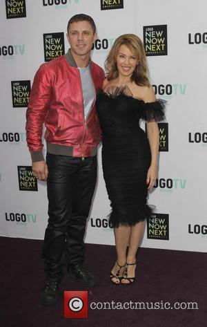 Jake Shears and Kylie Minogue