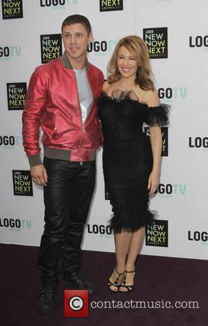 Jake Shears and Kylie Minogue - 6th Annual Logo 'NewNowNext Awards' - Arrivals - Los Angeles, California, United States -...