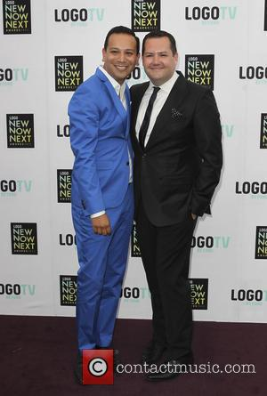 Salvador Camarena and Ross Mathews - 6th Annual Logo 'NewNowNext Awards' - Arrivals - Los Angeles, California, United States -...