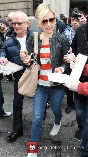 Dido - Celebrities outside the BBC Radio Two Studios - London, United Kingdom - Saturday 13th April 2013