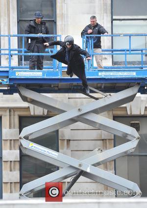 Benedict Cumberbatch and A Stuntman