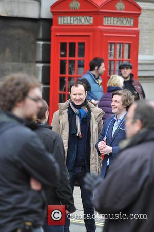 Benedict Cumberbatch and Mark Gatiss