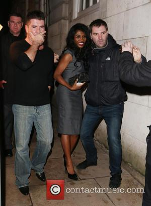 Simon Cowell - elebrities night out at Loulou's