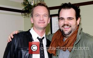 Neil Patrick Harris and Greg Hildreth - Backstage at the musical CINDERELLA at the Broadway Theatre - New York, NY,...