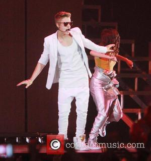 Justin Bieber - Justin Bieber performs to a sold-out crowd...