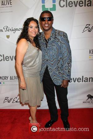 Babyface Edmonds and Nicole Edmonds - Keep Memory Alive Honors Quincy Jones and Sir Michael Caine - Las Vegas, NV,...