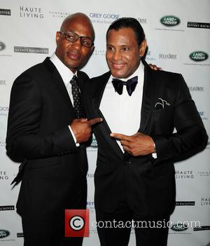 Bernard Hopkins and Sammy Sosa - The Blacks' Annual Gala 2013 held at Fontainebleau Miami Beach - Arrivals - Miami...