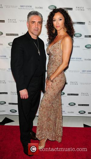David Siguaw and Sofia Milos - The Blacks' Annual Gala 2013 held at Fontainebleau Miami Beach - Arrivals - Miami...