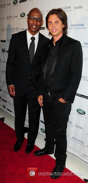 Jonathan Cheban and Bernard Hopkins