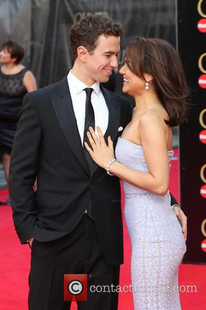 Samantha Barks and boyfriend Richard Fleeshman - The Laurence Olivier Awards 2014 held at the Royal Opera House - Arrivals...