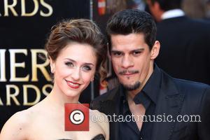 Thiago Soares and Marianela Nunez - The Laurence Olivier Awards 2014 held at the Royal Opera House - Arrivals -...