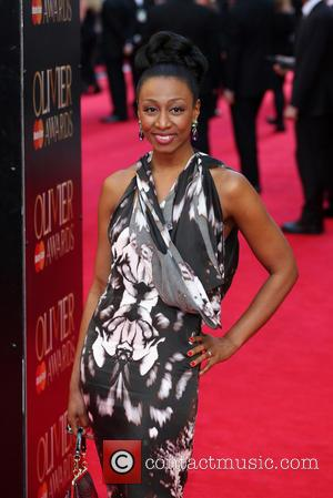 Beverley Knight - The Laurence Olivier Awards 2014 held at the Royal Opera House - Arrivals - London, United Kingdom...