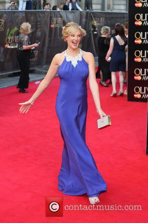 Katherine Kingsley - The Laurence Olivier Awards 2014 held at the Royal Opera House - Arrivals - London, United Kingdom...